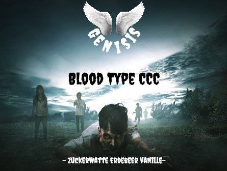 Diddi Vape - Blood Type CCC - 100ml - 0mg