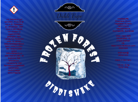 Diddi Vape - Frozen Forest - 100ml - 2 Nik-Shots